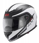 Givi H504 Full Face Helmet - white/black
