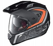 X-Lite X551 Adventure Helmet - black/orange (end of line)