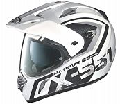 X-Lite X551 Adventure Helmet - black/white (end of line)