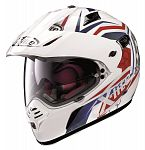 X-Lite X551 GT Adventure Helmet - white/blue/red