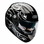** Givi H402 GT Sport Touring Helmet - black demon - Sale
