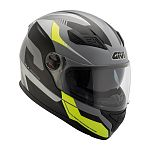 Givi H504 Full Face Helmet - black/grey/yellow