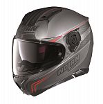 Nolan N87 Full Face Helmet - grey/red