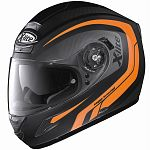 X-Lite X702 / X702 GT Full Face Helmet - black/orange