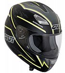 ** Givi H502 Full Face Helmet - black/fluro - SALE