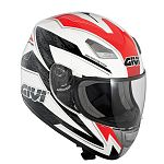 ** Givi H502 Full Face Helmet - white/red/black - SALE
