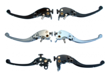 Levers, assemblies and parts