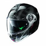 X-Lite X1004 Ultra Carbon Flip Face Helmet - carbon/scratched chrome