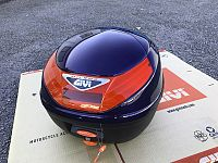 Givi E260 Monolock Top Box (blue)