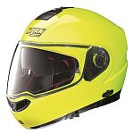 ** Nolan N104 Absolute N-Com Flip Face Helmet Size S - yellow - sale