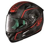 X-Lite X802RR Ultra Carbon Full Face Helmet - carbon/red